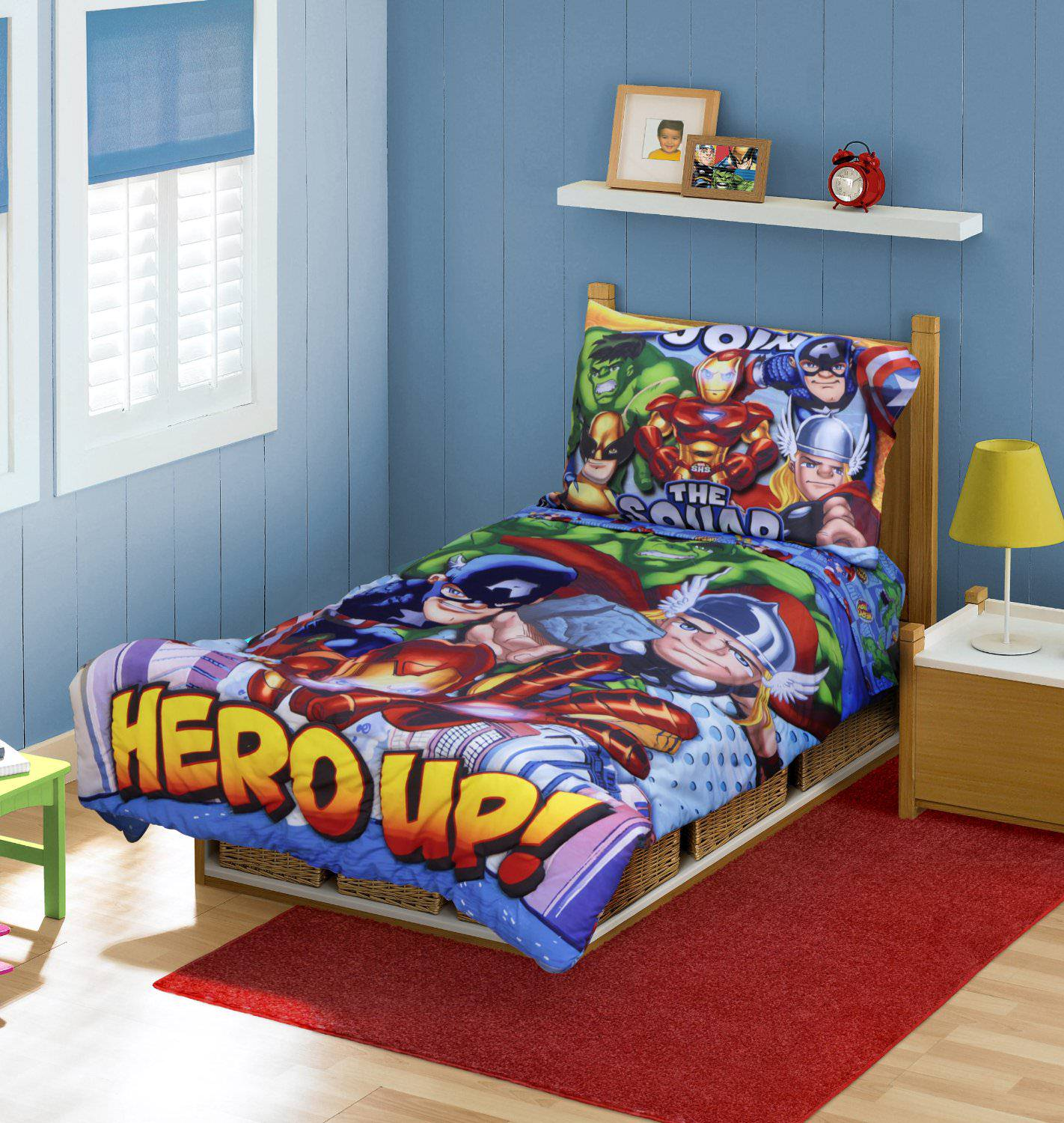 Hero Up Bedding
