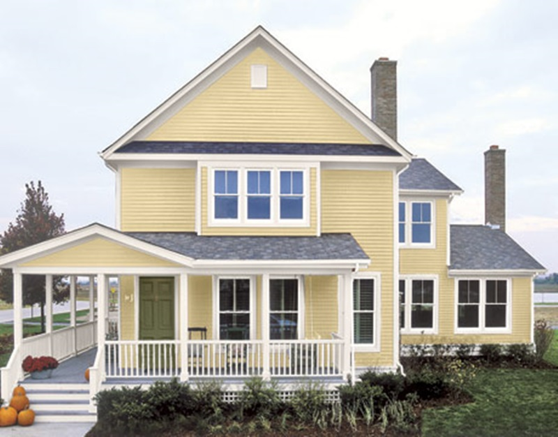 House Paint Color Combinations (Image 6 of 10)