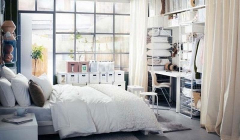 IKEA bedroom contemporary
