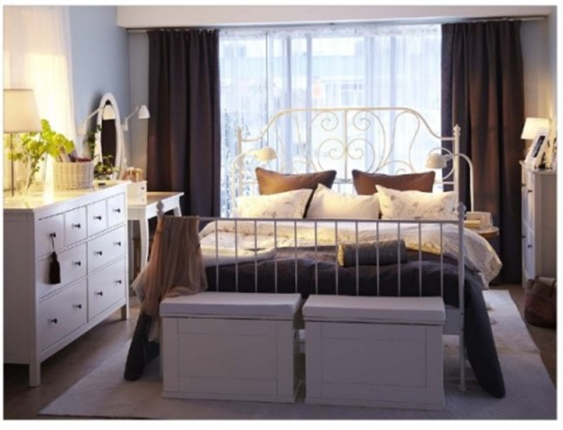IKEA Classical Bedroom (Image 7 of 10)