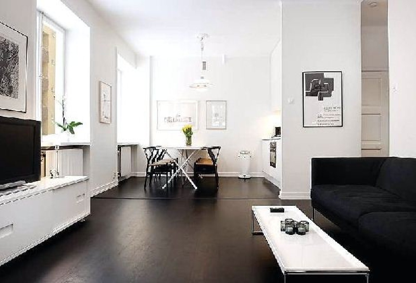 Innovative White Apartment Design (Image 6 of 16)
