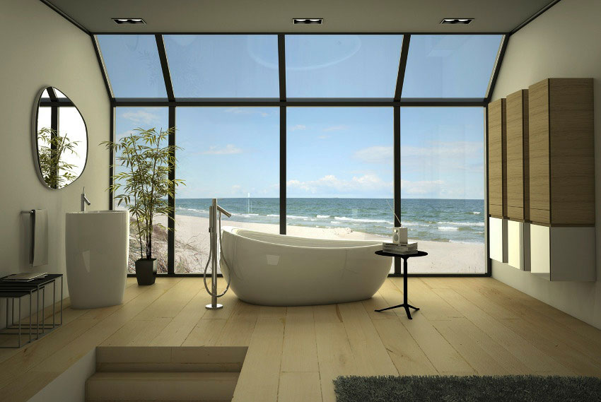 Inspiring Relaxing Bathroom Design