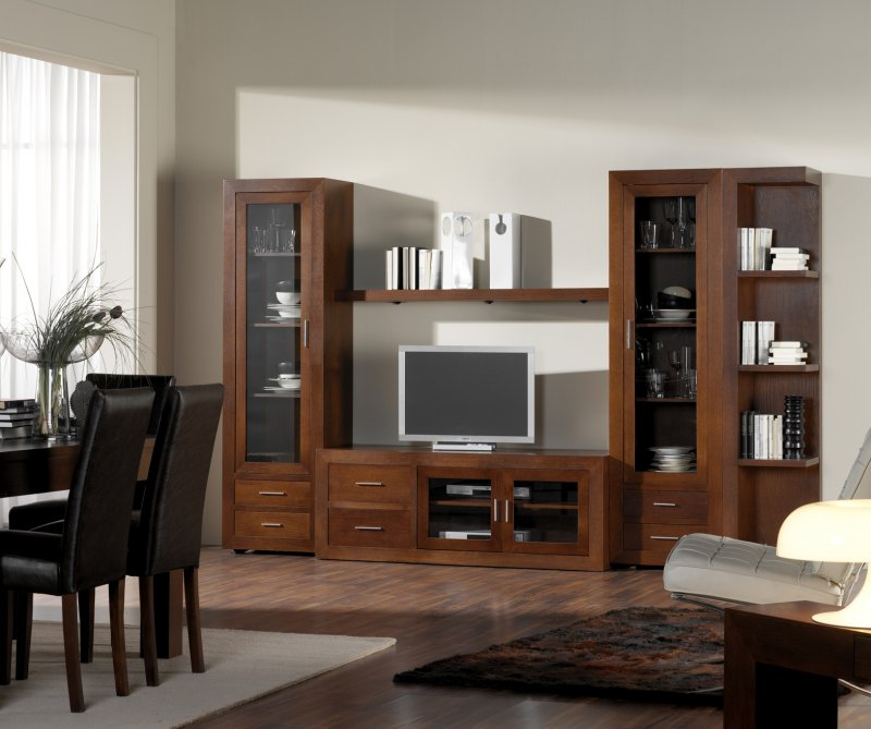 Interior dining room cabinet