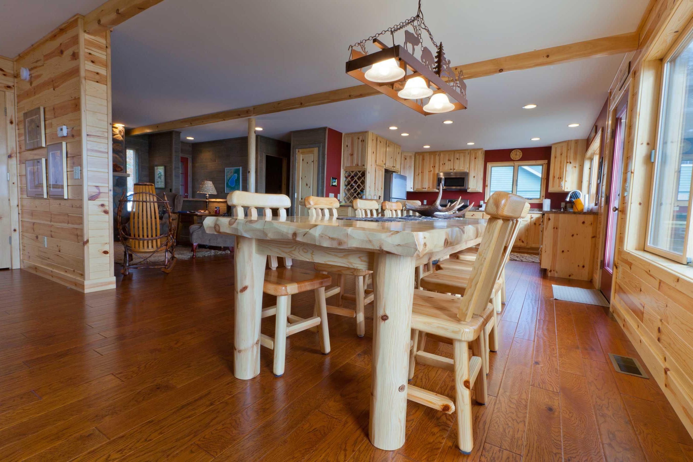 Knotty Pine Paneling House Design Style (Image 3 of 5)