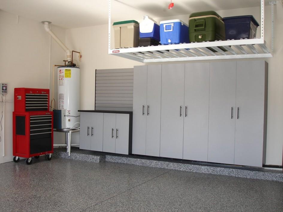 Large Garage Heater in Corner Installation