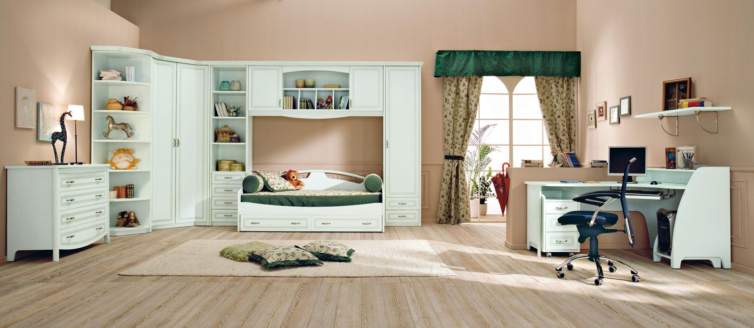 Large Kids Bedroom Furniture Placement