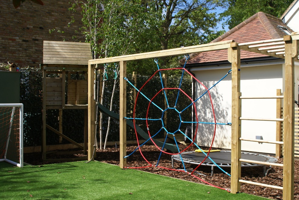 Lovely Backyard Landscaping Ideas For Kids (Image 4 of 6)