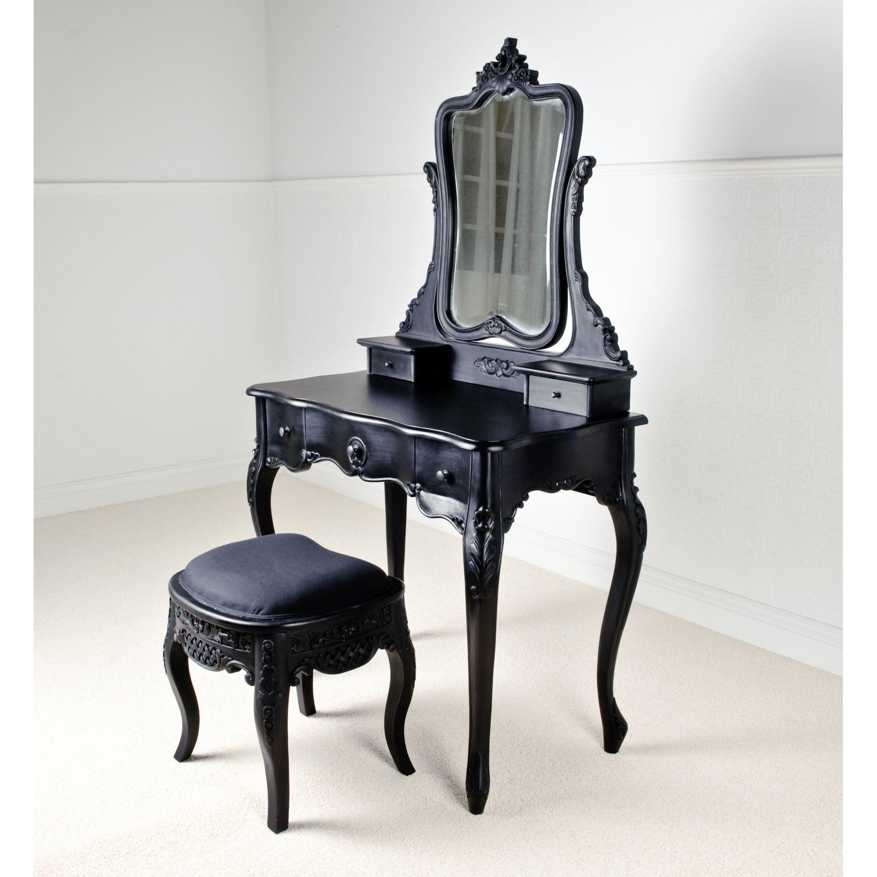 Luxury Dark Vanities for Bedroom