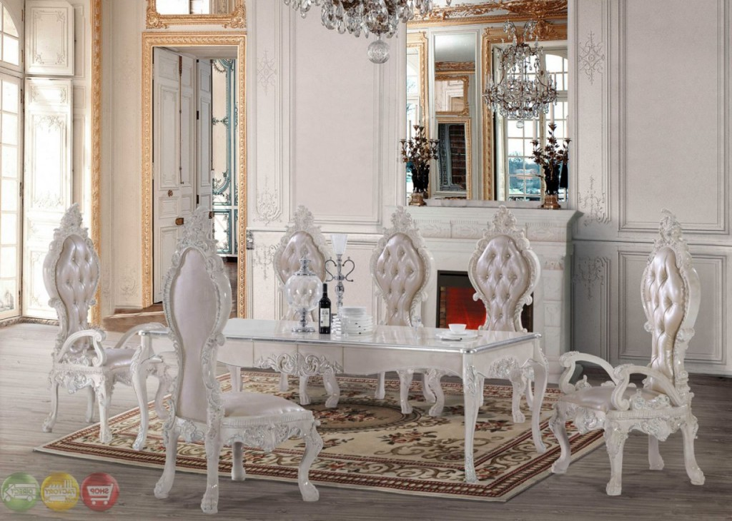 Luxury Italian Style Dining Room Sets (Image 8 of 10)
