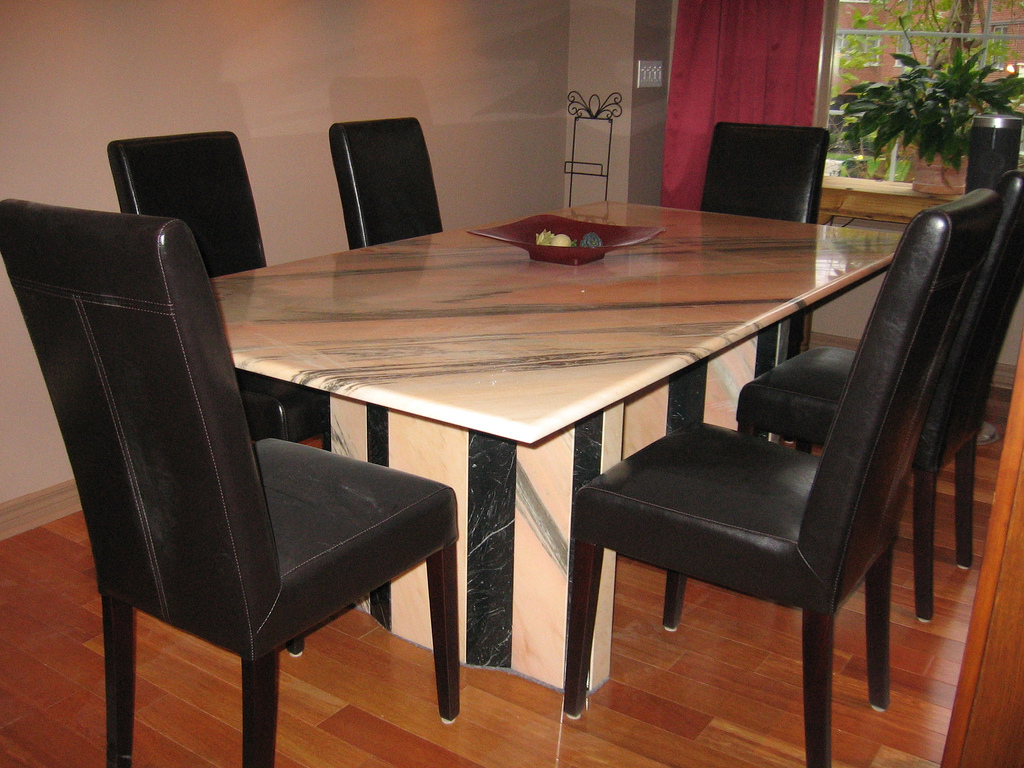 Marble Dining Room Table (View 8 of 11)