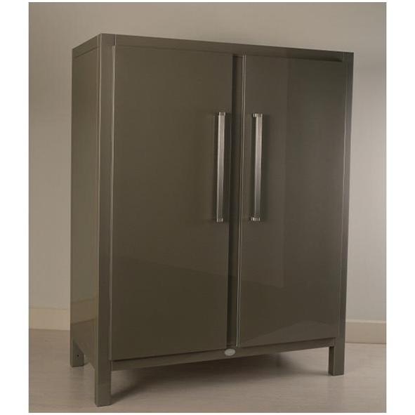 Meneghini Astraeus Grey Refrigerator (View 2 of 6)