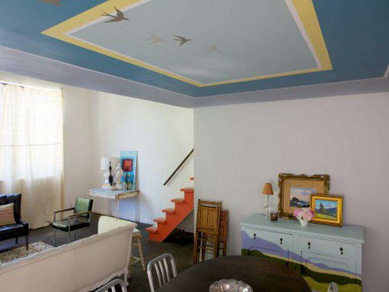Modern Ceiling Paint Ideas (Image 6 of 10)