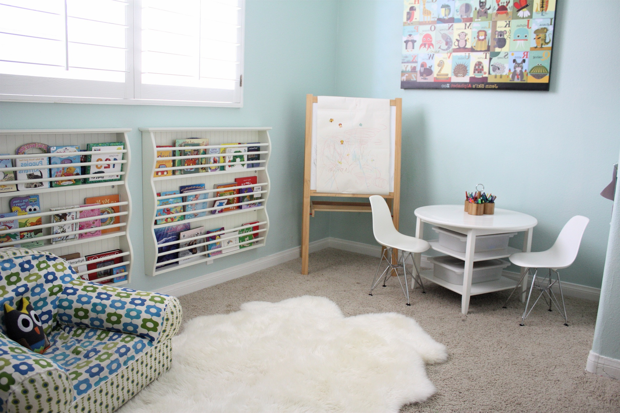Modern Kids Playroom Interior