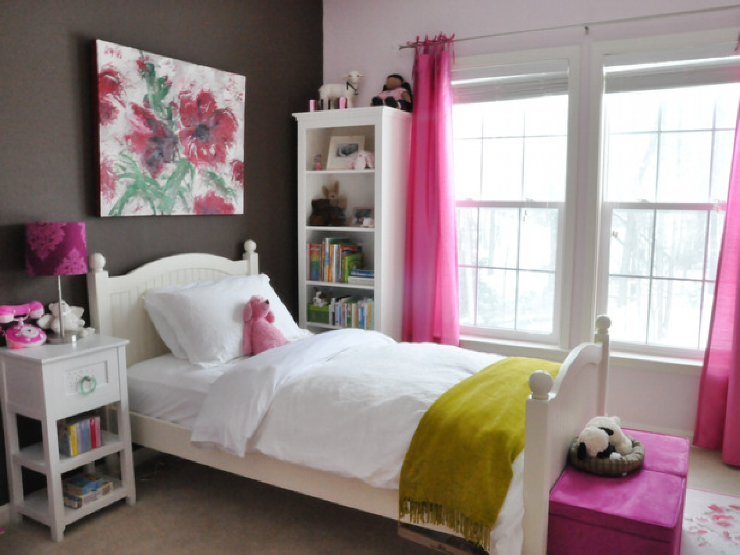 Nice Elegant Girl Bedroom Trends 2015 Design