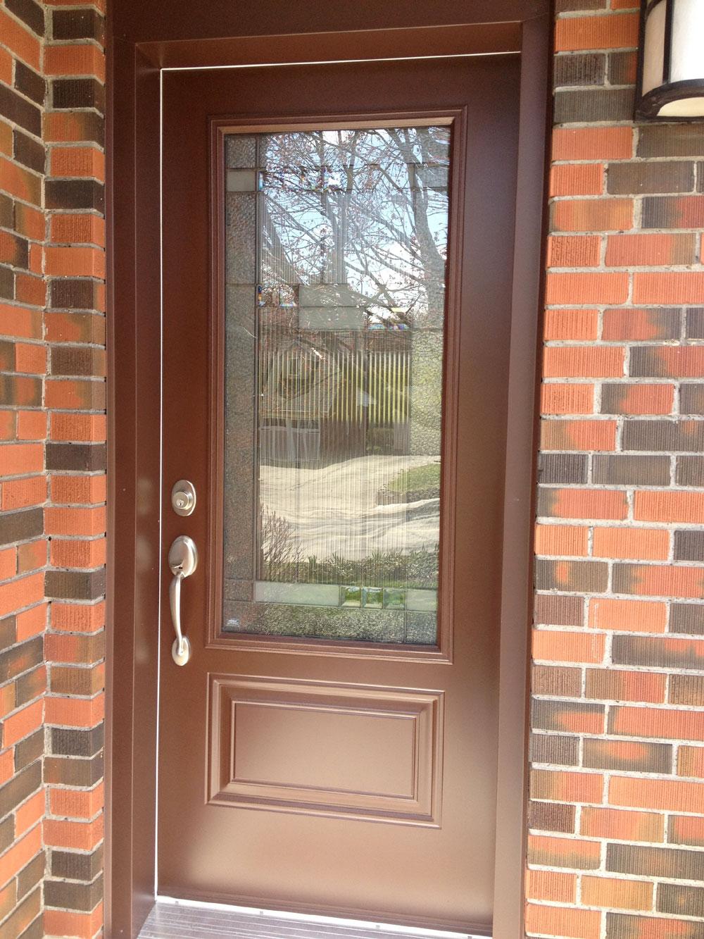 Painting A Steel Door Glossy Door (View 8 of 10)