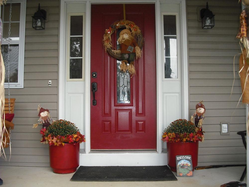 Painting A Steel Door Red Door (View 7 of 10)