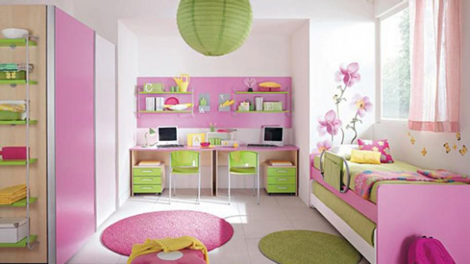 Pinky Girl Bedroom Trends 2015