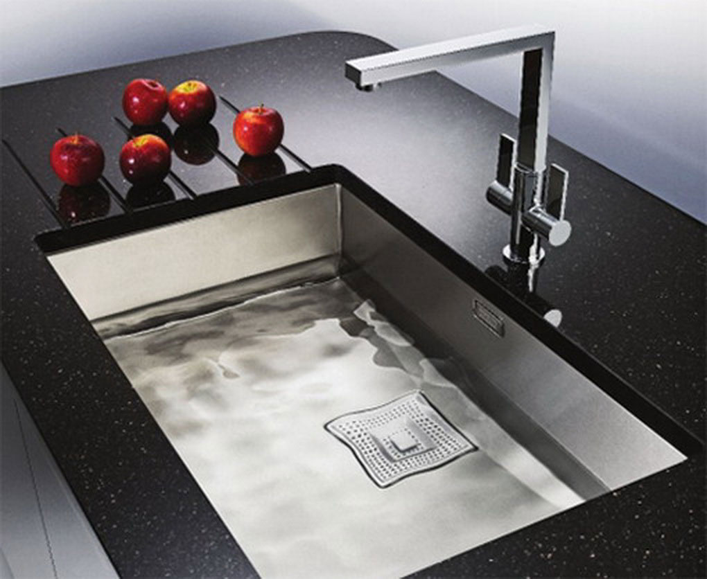 Pretty Square Modern Undermount Sink Design (Image 7 of 10)