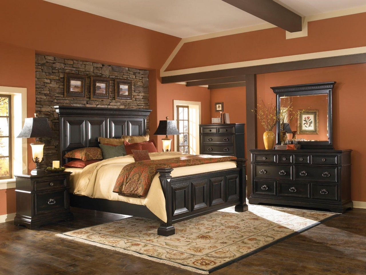 Pulaski Brookfield 4-Piece Panel Bedroom