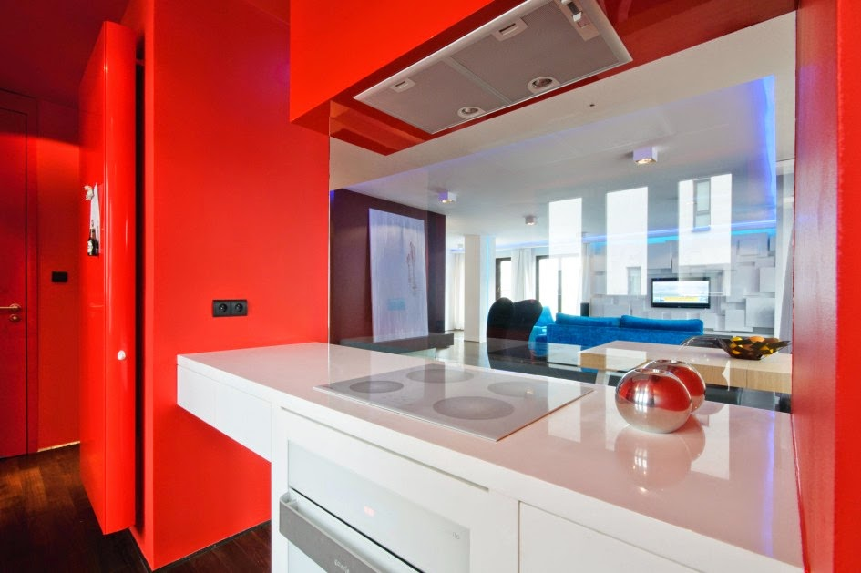 Featured Image of Bright And Eye Catching Red Kitchen Ideas