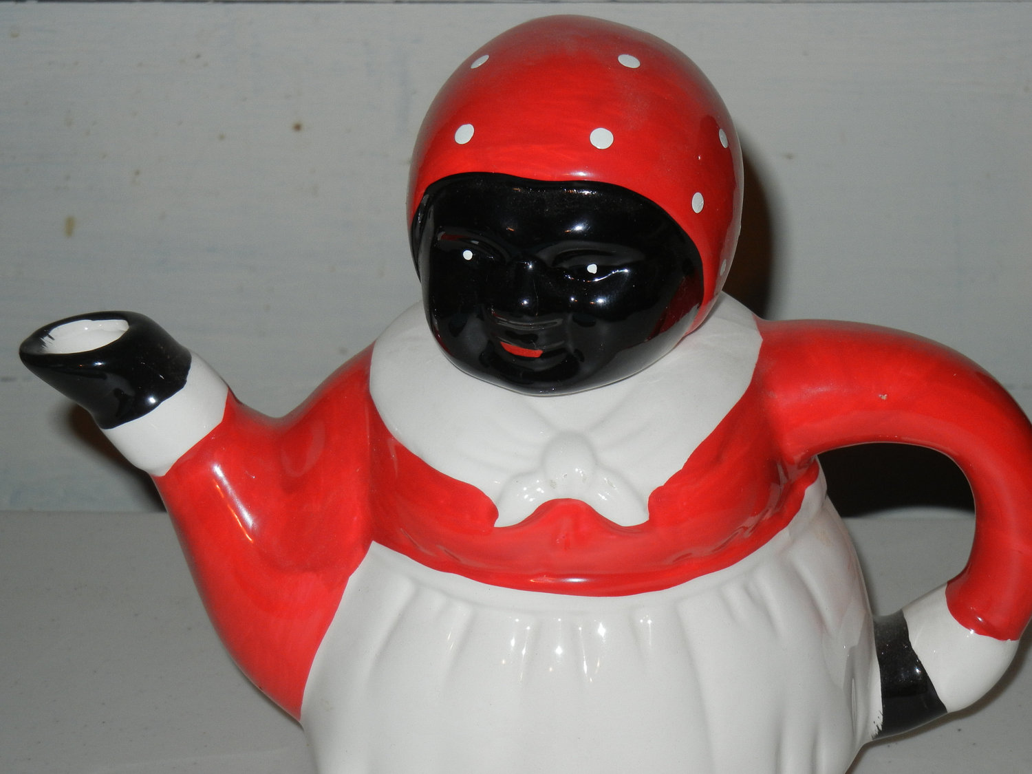 Red Teapot Aunt Jemima Kitchen Decor (View 7 of 10)