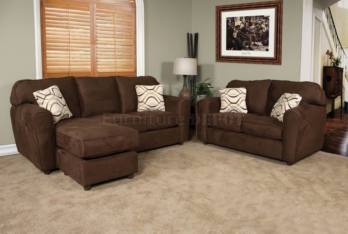 Sierra Chocolate Sofa