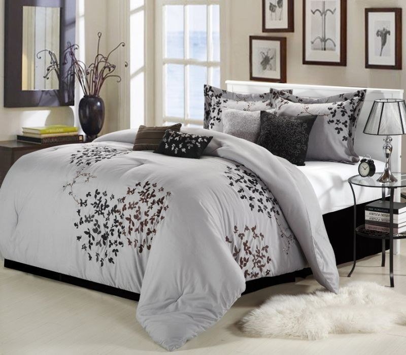 Silver Bed Design (Image 6 of 10)