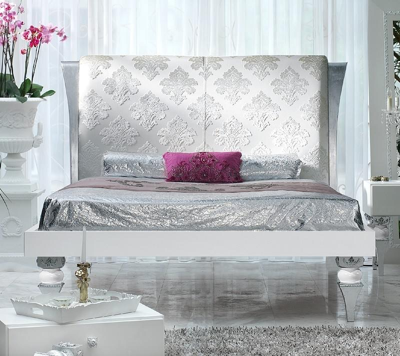 Silver Leaf Bed
