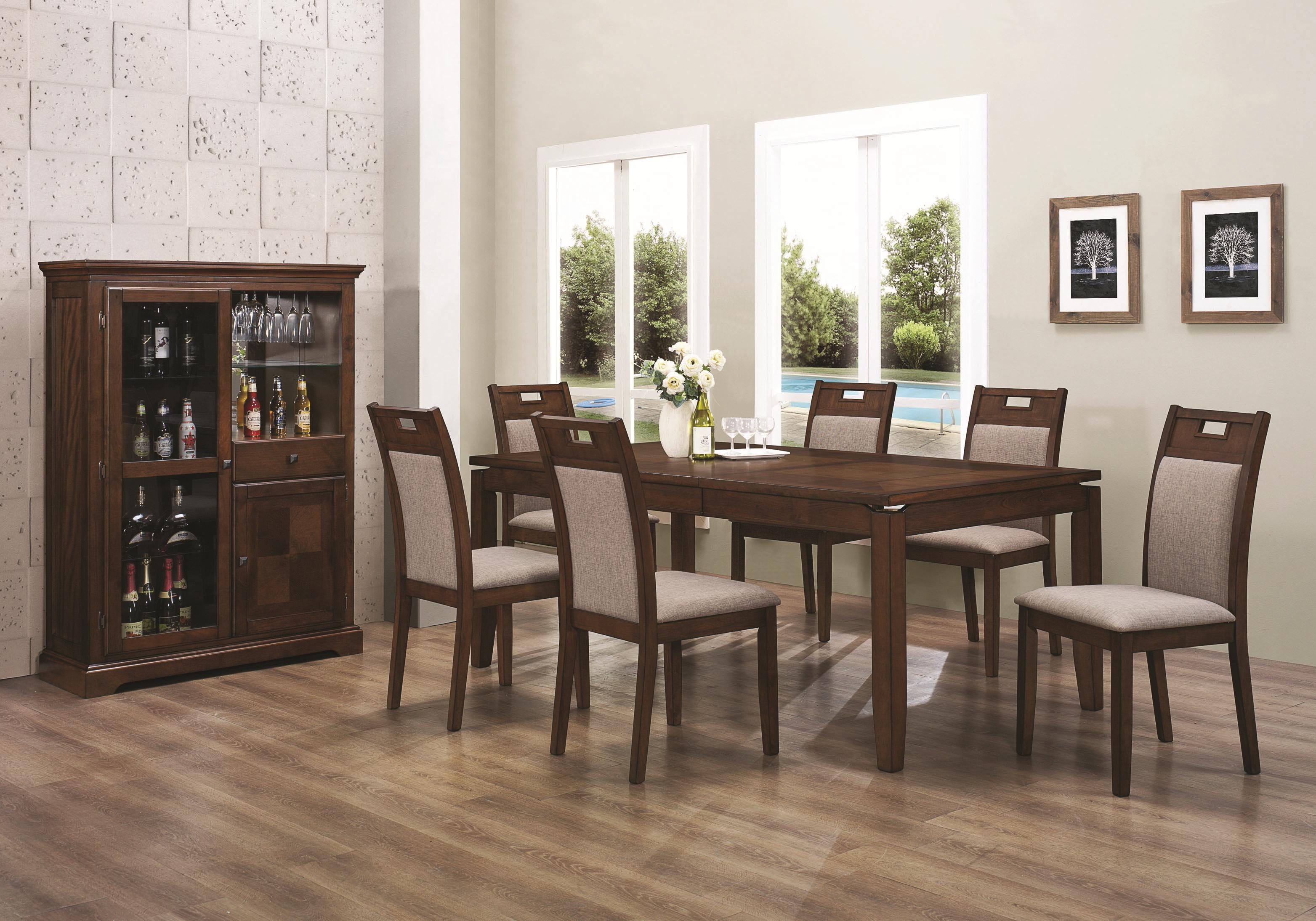 Simple Dining Table And Chairs (Image 6 of 10)