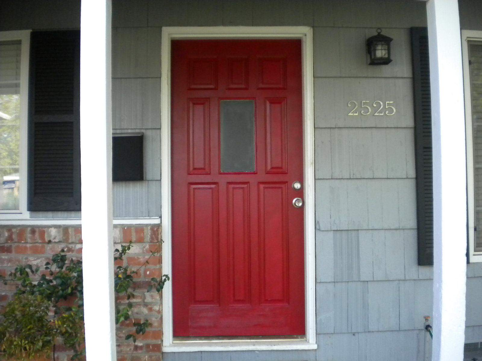 Simple Painting Exterior Door (Image 10 of 10)