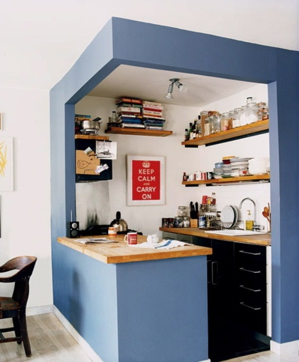 Simple Small Rooster Kitchen Design (View 1 of 11)