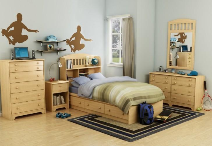 Skate Theme Kids Bedroom Design (Image 9 of 10)