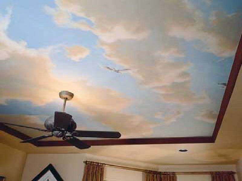 Sky Ceiling Paint Ideas (Image 10 of 10)