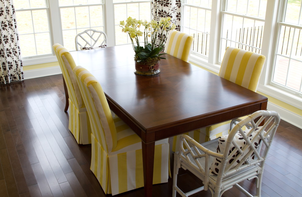 Slipcover For Dining Room Chair (Image 8 of 10)