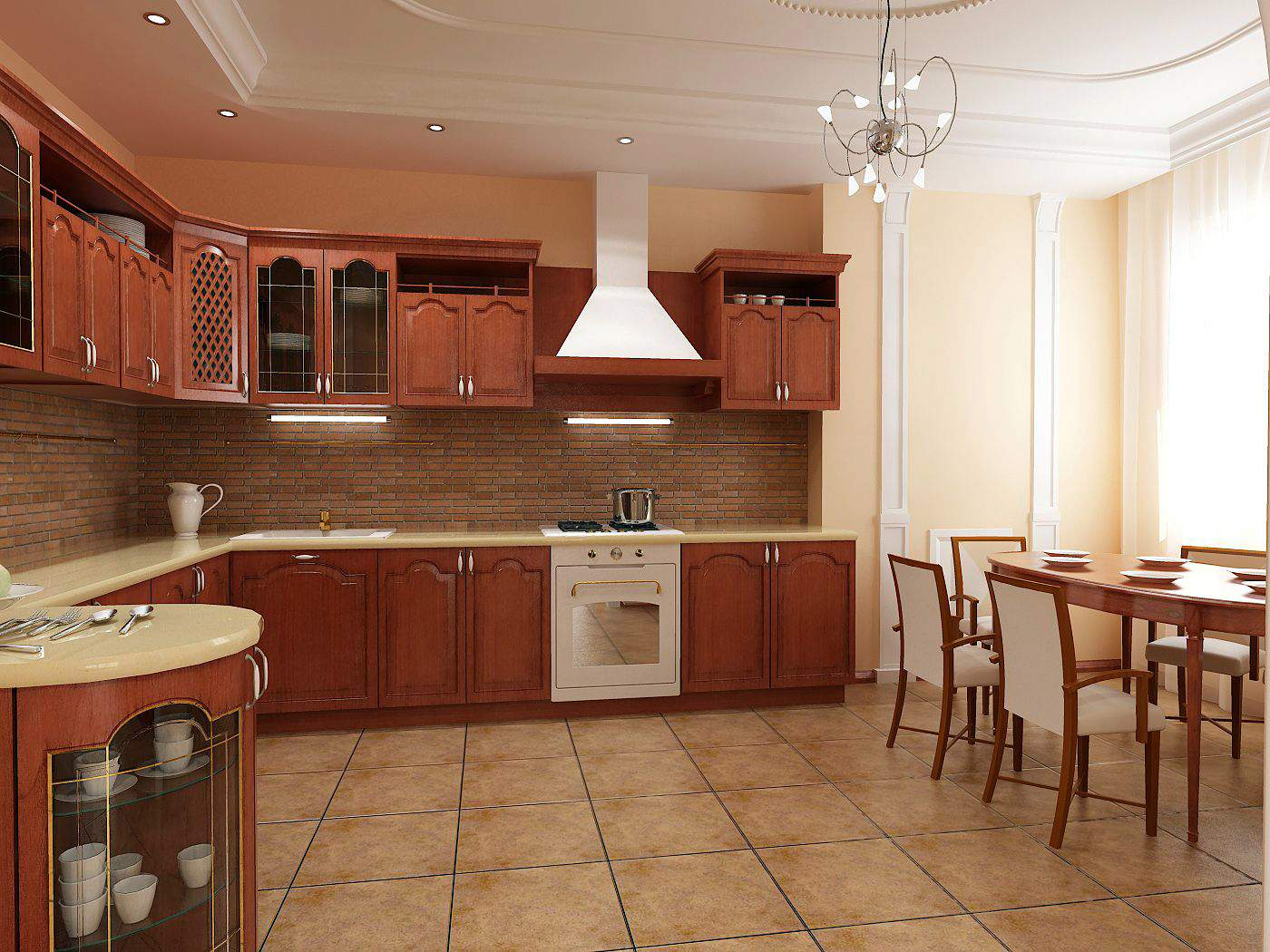 Small Interiors Of Basic Kitchen Design