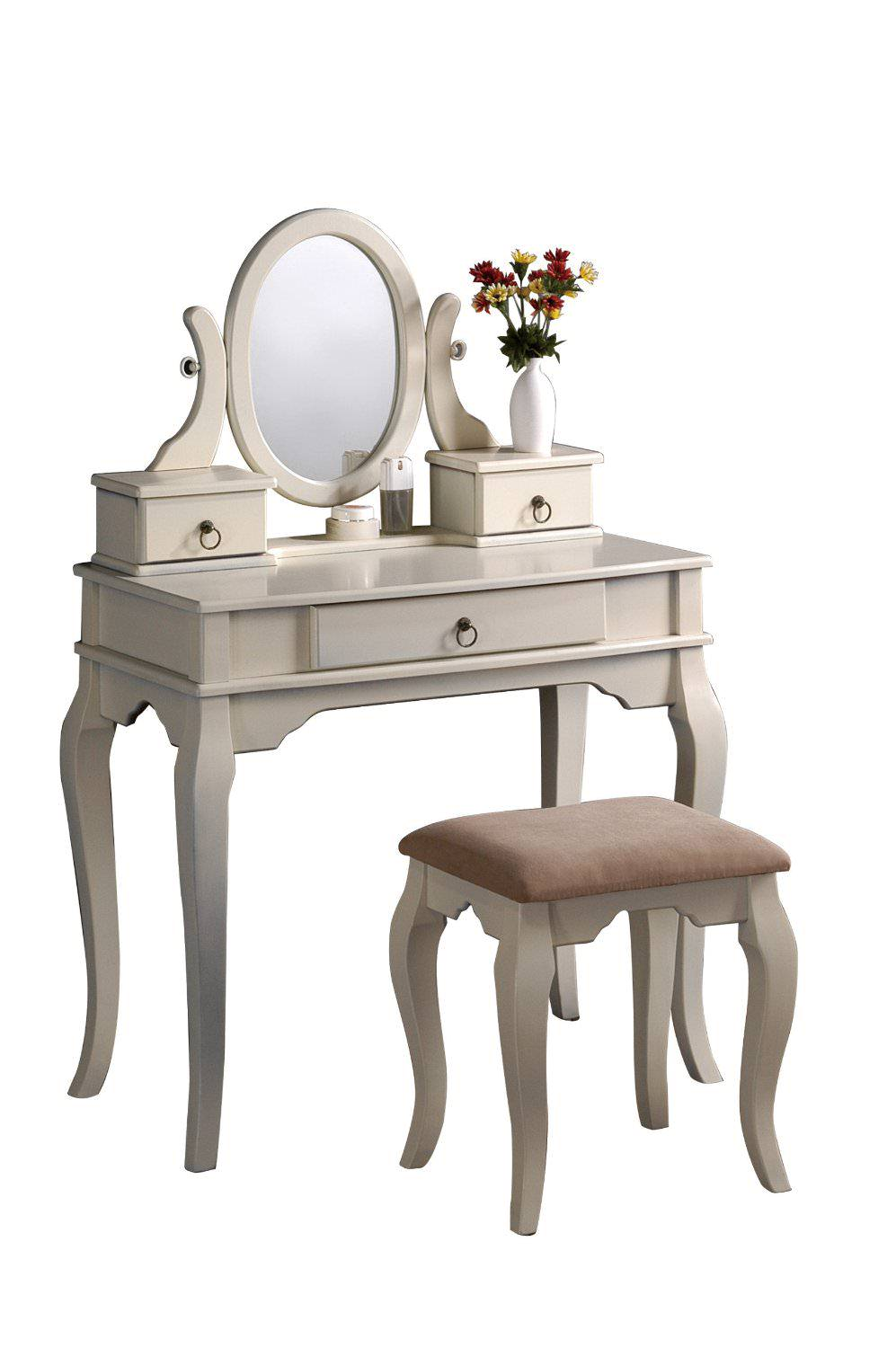 Small White Vanities For Bedroom (Image 9 of 10)