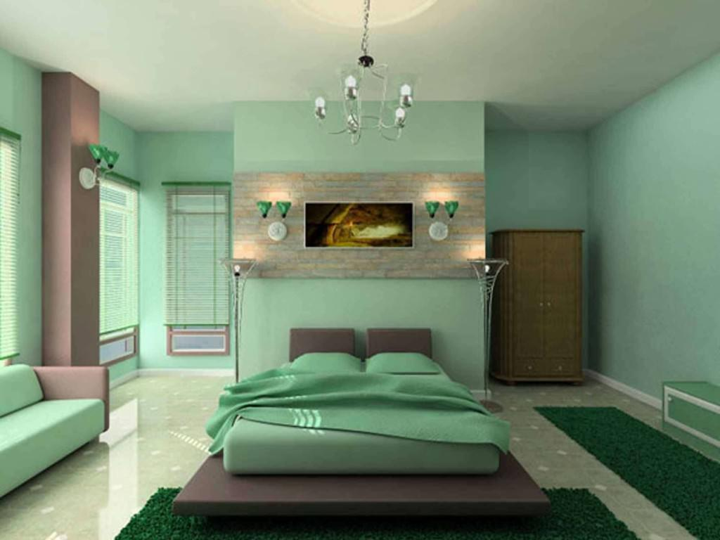 Smooth Color Paint A Bedroom Design (Image 9 of 10)