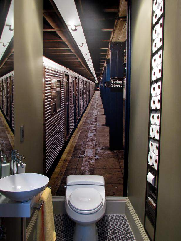 Featured Photo of Big Idea For Small Bathroom Storage Design