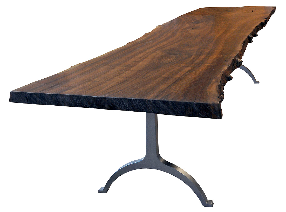 Steel Type Of Legs Table (View 4 of 10)