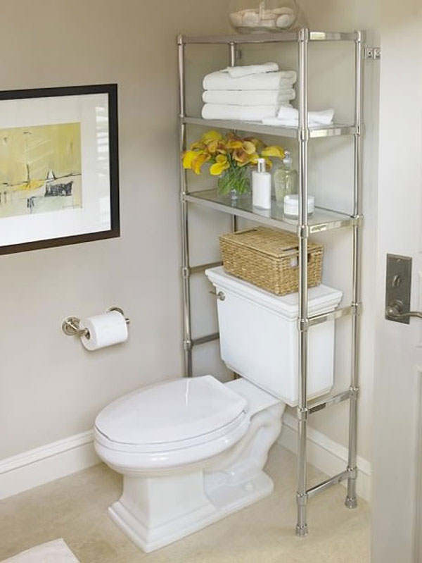 Storage Ideas For Small Bathroom Ideas (Image 6 of 10)