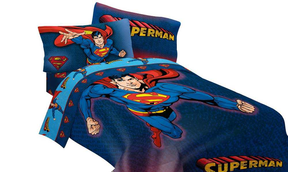 Super Hero Bedding (View 7 of 10)