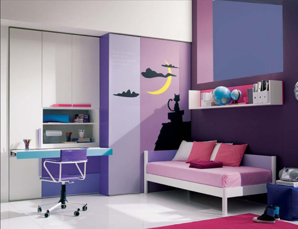 Teenager Bedroom Inspirations (Image 10 of 10)