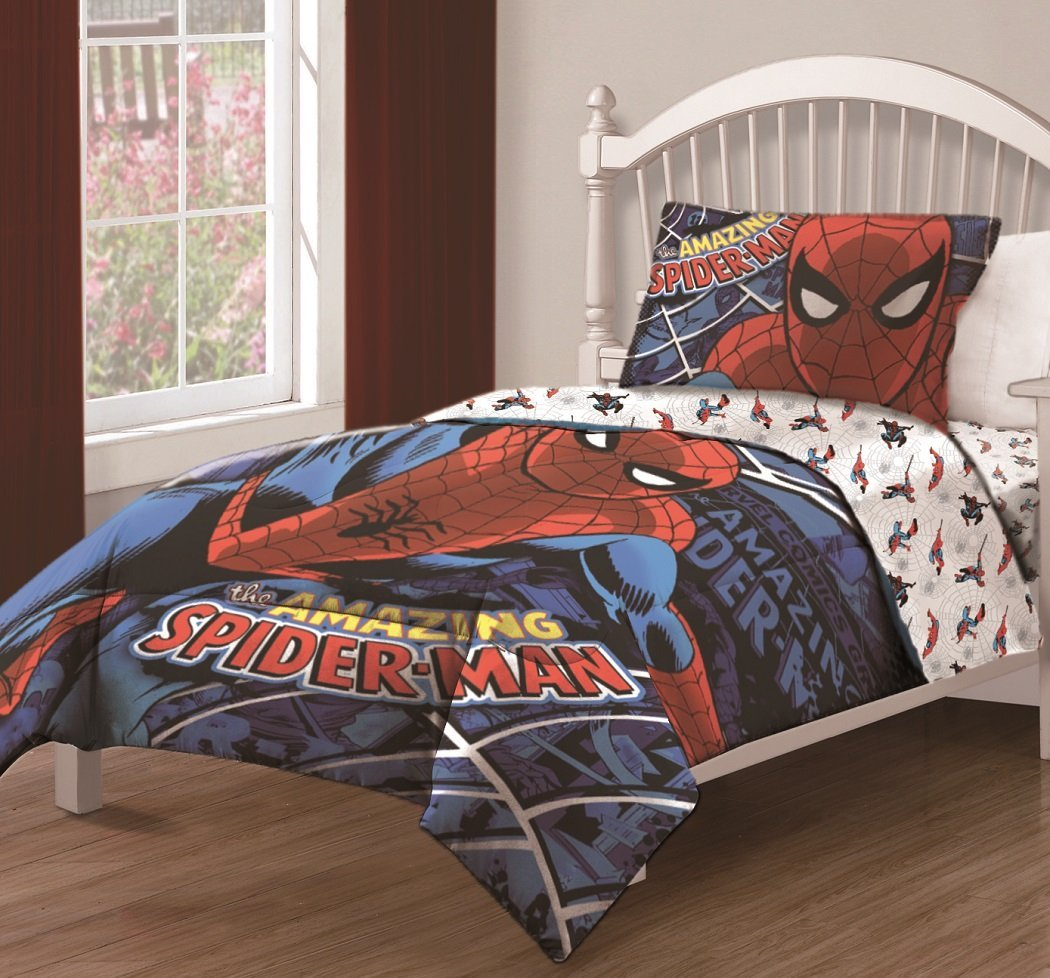 The Amazing Spiderman Bedding (Image 7 of 10)