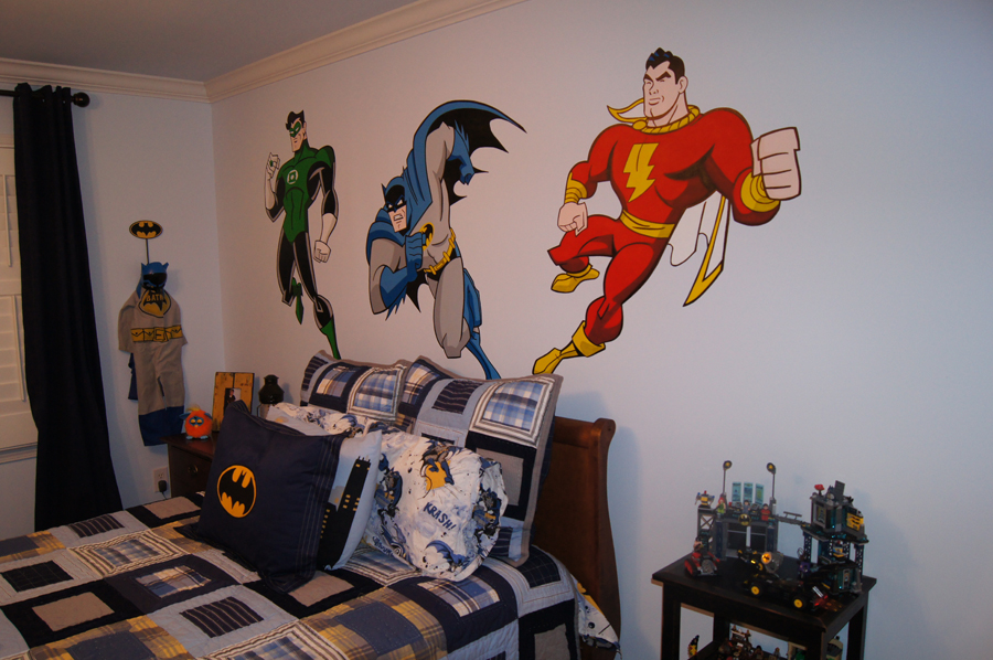The Avenger Bedding (View 4 of 10)
