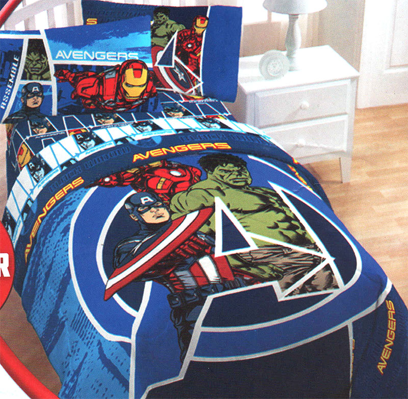 The Avenger Team Bedding (View 3 of 10)