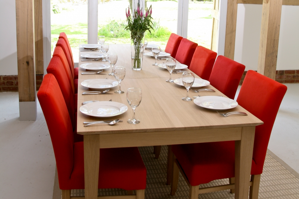 The Red Dining Chairs (Image 10 of 10)