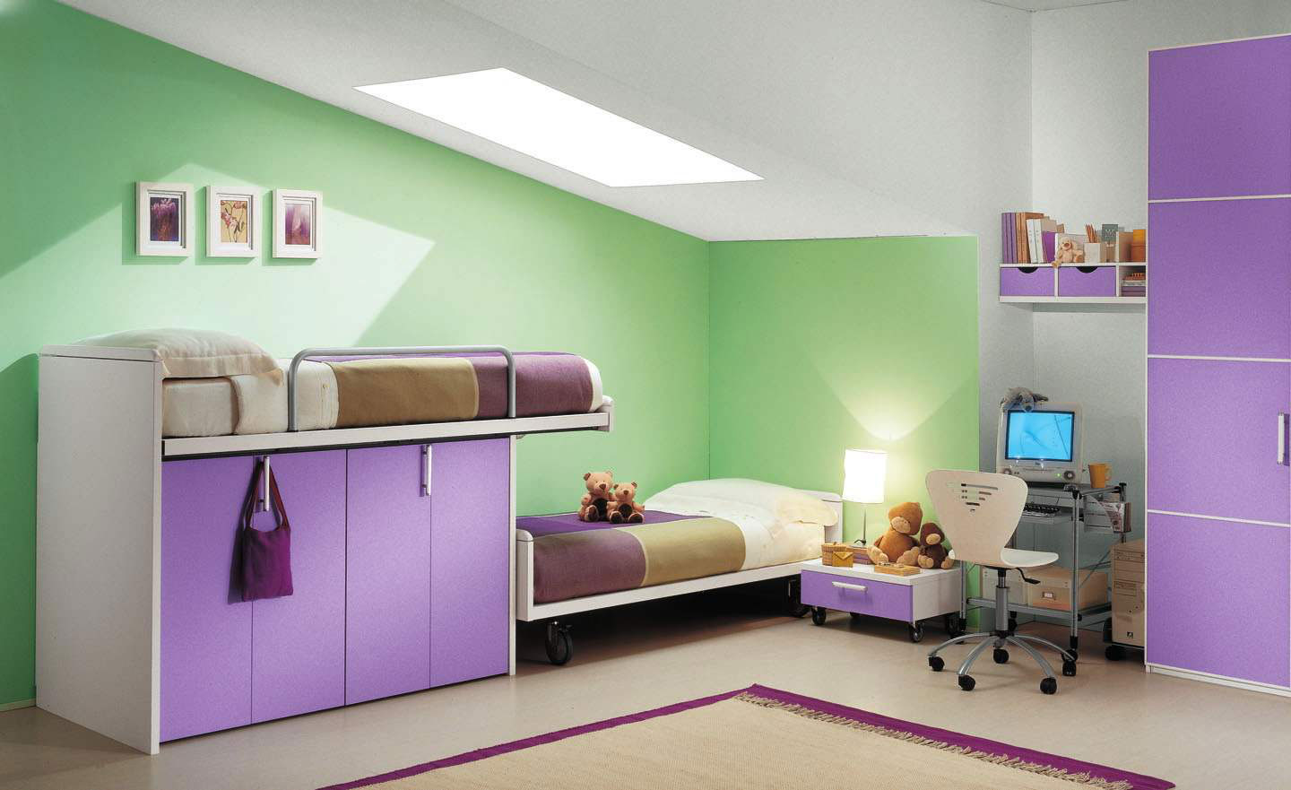 Toddler Bedroom Children Minimalist 2014