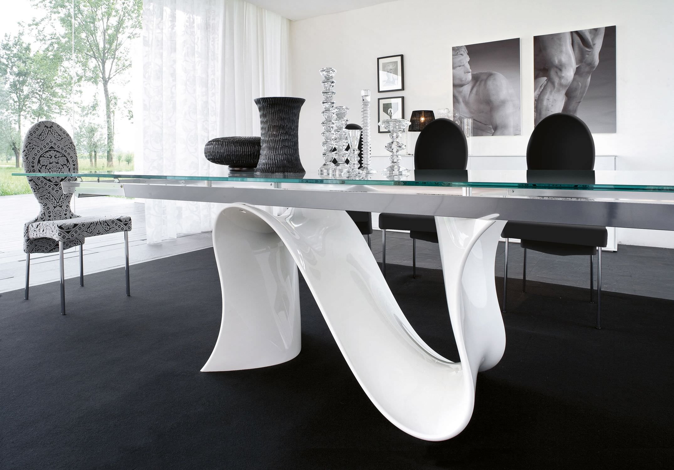 Unbelievable Contemporary Dining Table Design (Image 11 of 11)