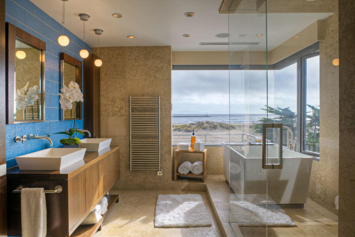 Unique Beach Themed Bathroom