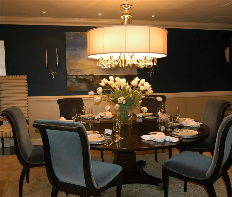Unique Formal Dining Room (View 4 of 10)